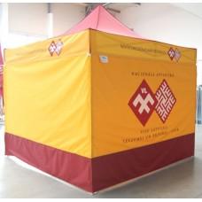Izvelkama PREMIUM alumīnija telts/nojume 3x3 m Nr.2/55