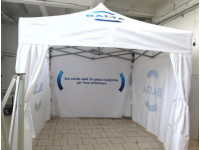 Komercio teltis, Balta
