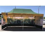 Izvelkama PREMIUM alumīnija telts/nojume 3x6 m Nr. 2/57