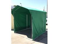 Trubiņu profilu teltis