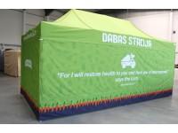 Komercio telts, Dabas stacija