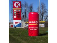 Komercio piepūšama reklāma, Circle K