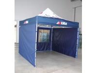 Komercio telts, Kapa