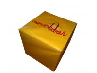 Komercio reklāmas kubi ar apdruku