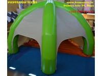 Komercio piepūšamas teltis, Atašiene