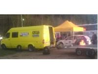 Komercio teltis, autosports
