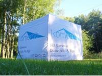 Komercio alumīnija teltis